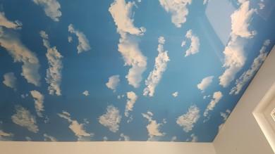 Spanndecke Himmel, Wolkendecke